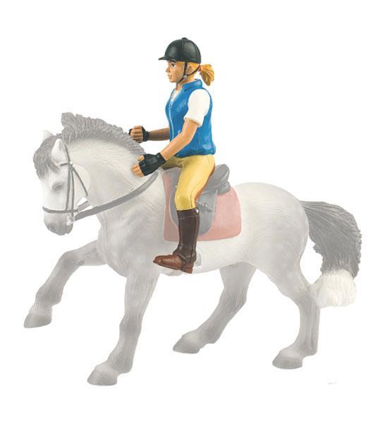 Bullyland – figurka jezdkyně