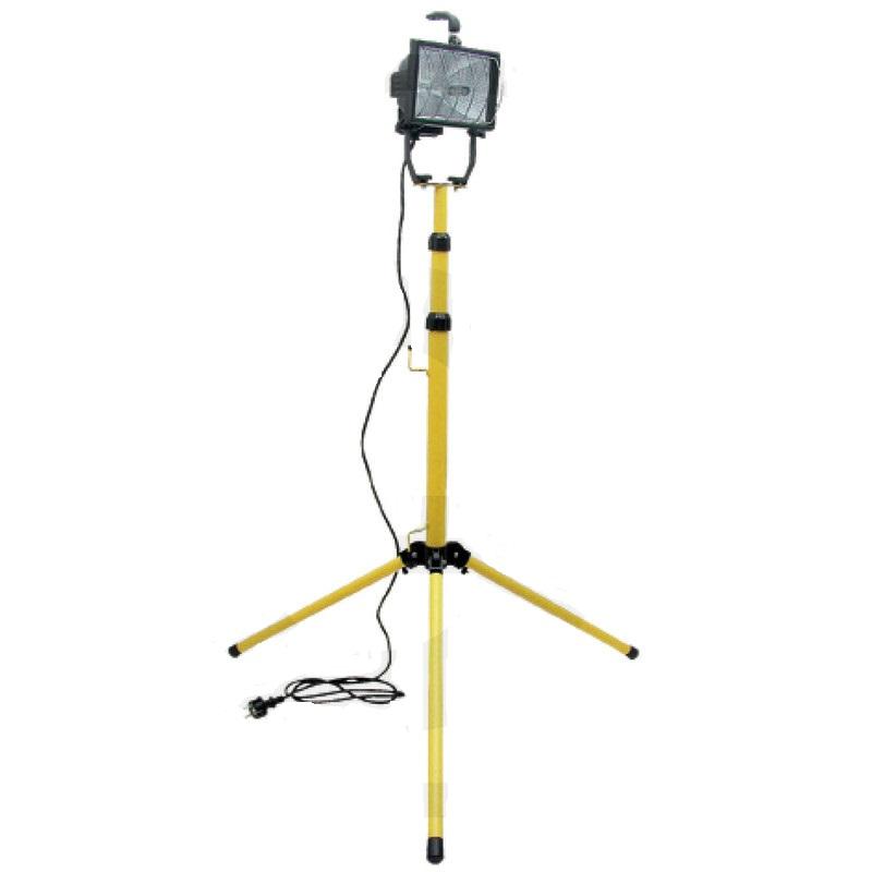 Halogenový pracovní reflektor 500W s výškově nastavitelným stojanem až 2 m