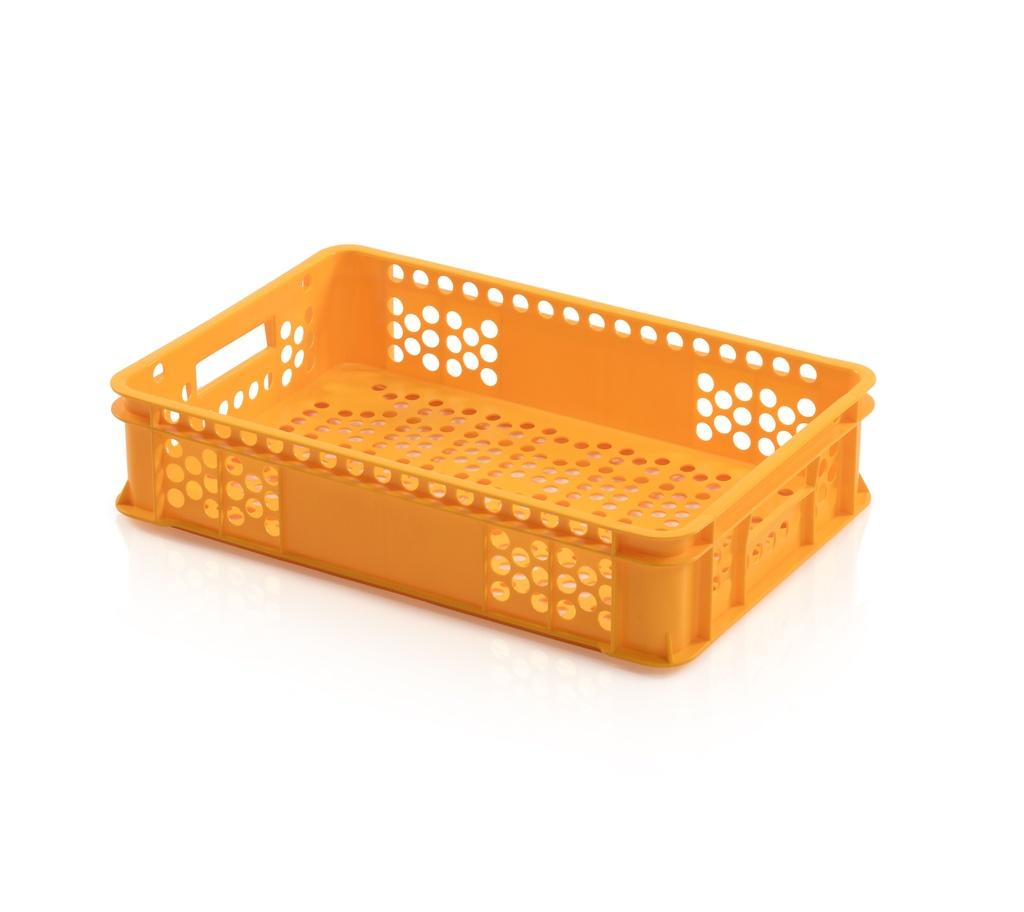 Plastová přepravka na pečivo typ N, nosnost 10 kg