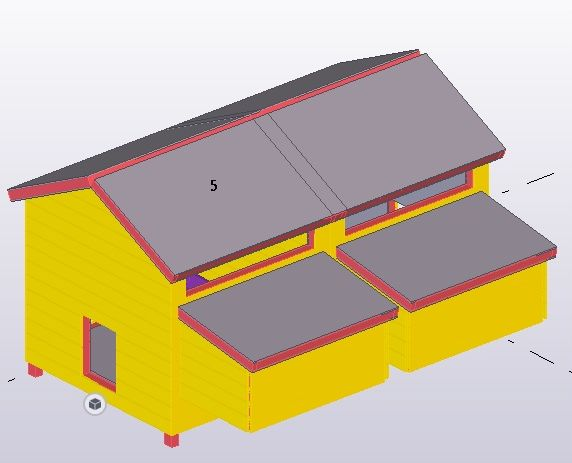 Zateplený dřevěný kurník pro slepice Stříbro Maxi český truhlářský výrobek včetně košíků