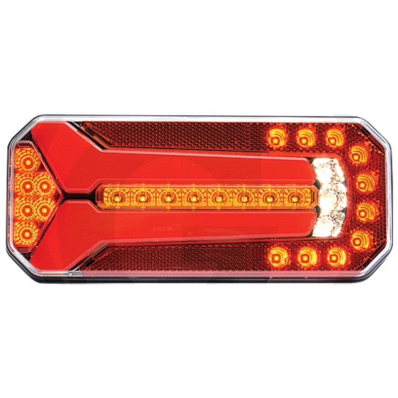 LED světlo levé a pravé koncové, brzdové, směrové běžící, zpátečkové, mlhovka, SPZ