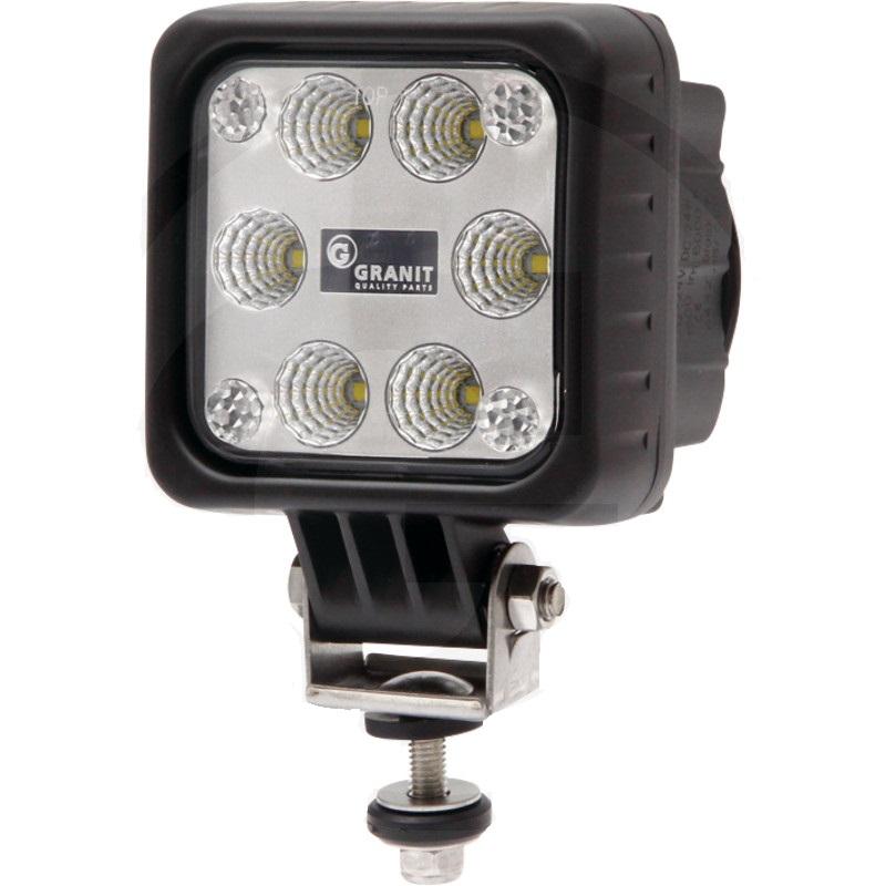 LED pracovní světlo hranaté 6 LED 12V a 24V