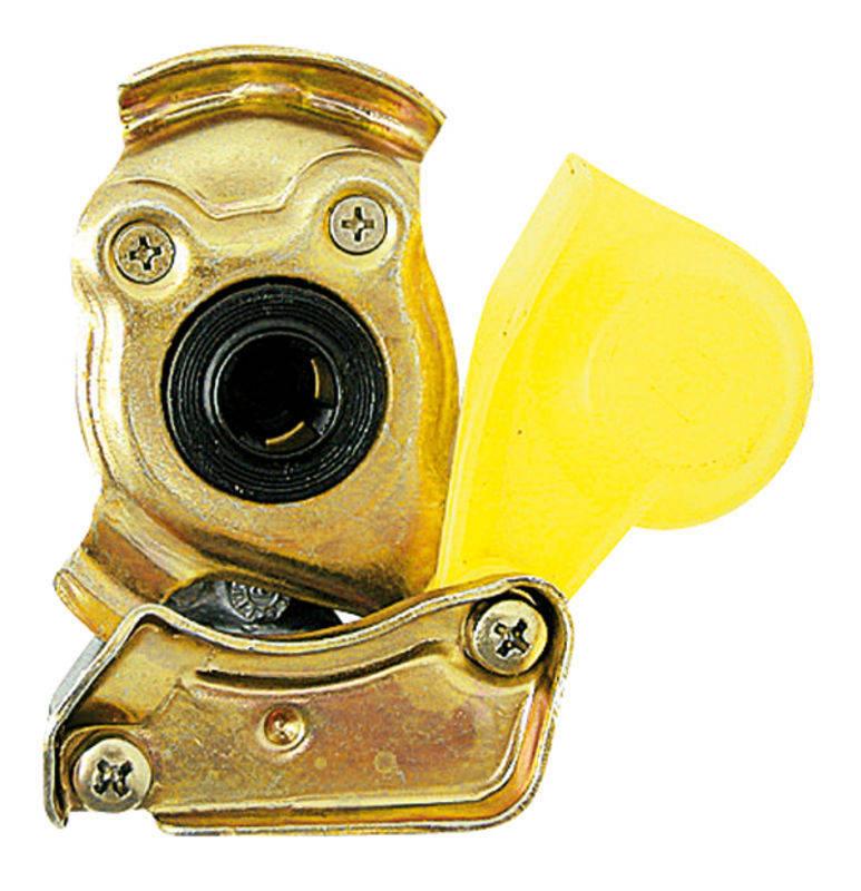 Hlava brzdové spojky Granit žlutá pro traktor provedení M 16 x 1,5 brzda automatika
