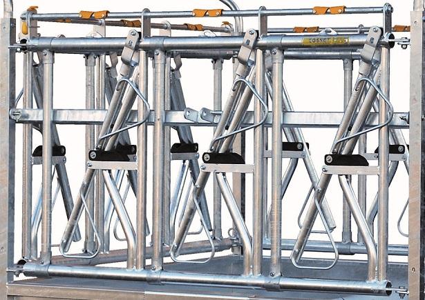 Náhradní panel pro palisádový krmelec Cosnet RTC 2 se zarážkou délka 1,83 m 3 hlavy
