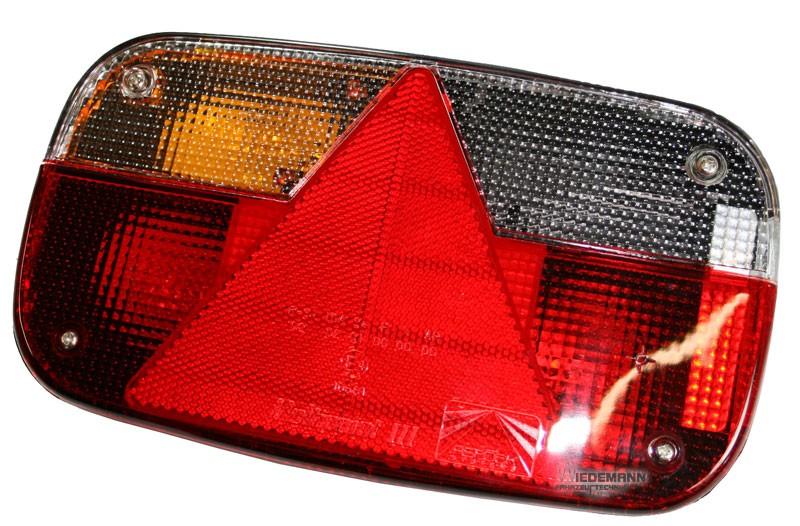 Zadní pravé světlo Aspöck Multipoint 3 koncové, brzdové, směrové + osvětlení SPZ