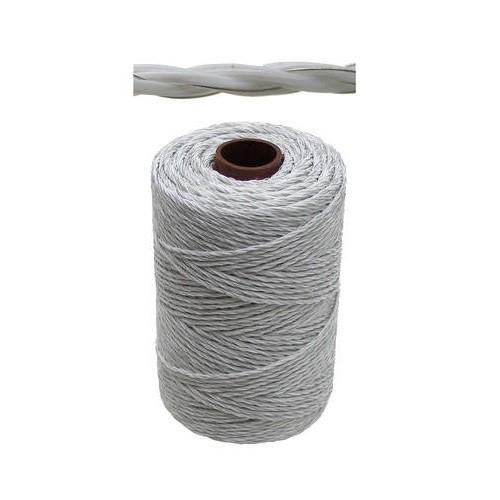 Ohradníkové lanko Granit bílé 3 mm/500 m polyetylénové odpor 3,87 Ohm/m