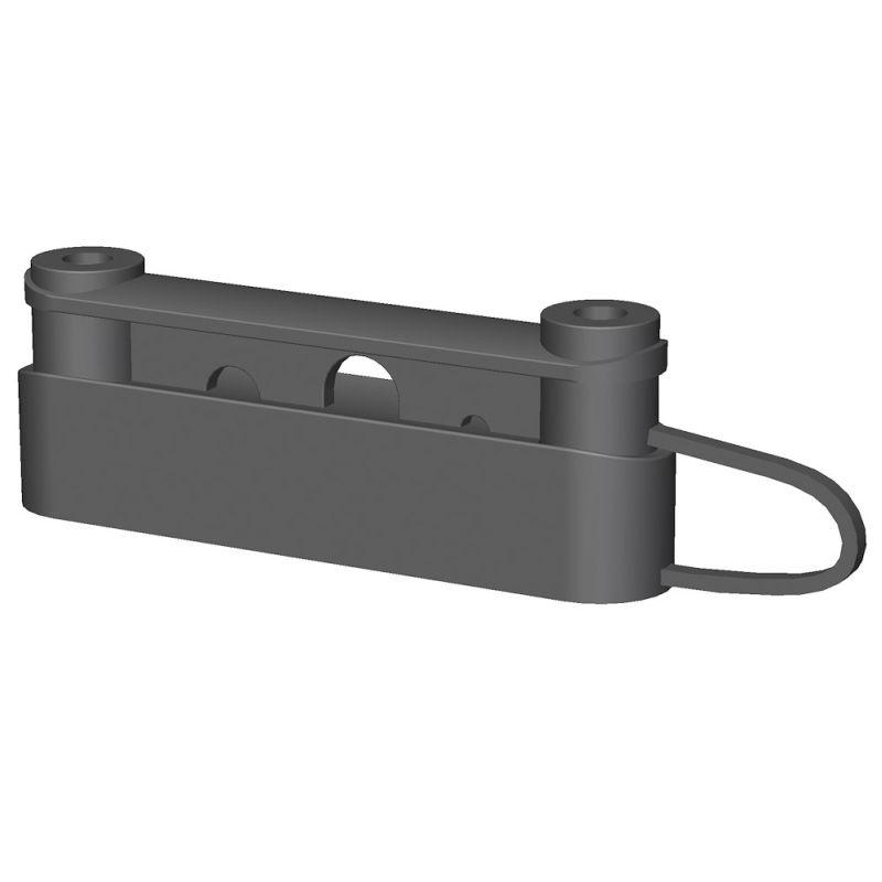 Duo izolátor OLLI pro pásky a lana pro elektrický ohradník 50 ks