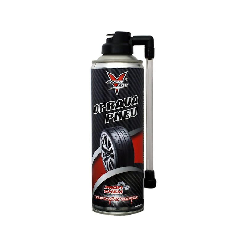 CleanFox sprej na opravu píchlé pneumatiky, 300 ml