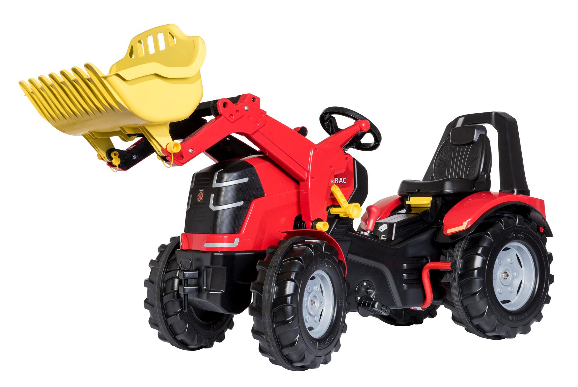 Rolly Toys - šlapací traktor s řazením a ruční brzdou modelová řada X-Trac Premium