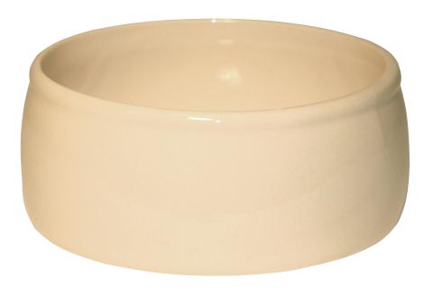 Keramická kameninová miska 750 ml na krmivo pro králíky, psy, kočky