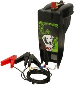 Olli SG 3 bateriový 12V zdroj napětí pro elektrický ohradník, 0,3J