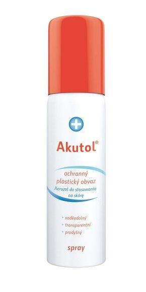 AKUTOL Spray ochranný plastický tekutý obvaz 60 ml