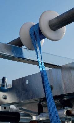 Náhradní popruh pro navijáky na paznehty pro skot PASDELOU 25 mm x 1 m