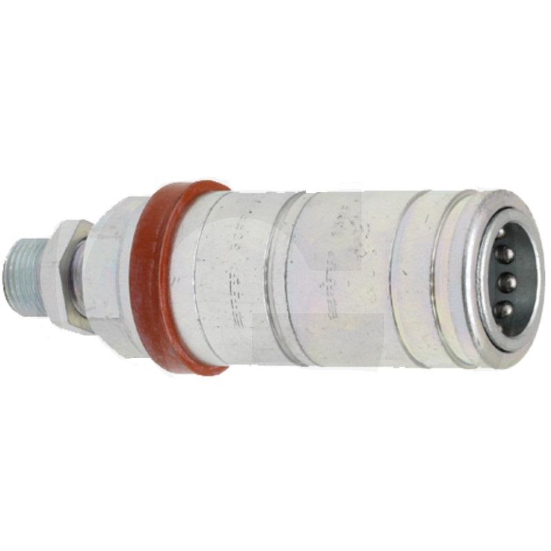 Hydraulická rychlospojka AGRAR FASTER 3CFPV7/2215F samice vnější závit M22x1,5 Schott