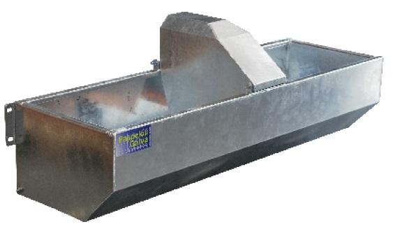 Zinkovaný napájecí žlab PASDELOU CL 200 l k zinkovaným cisternám od modelu 2000 l