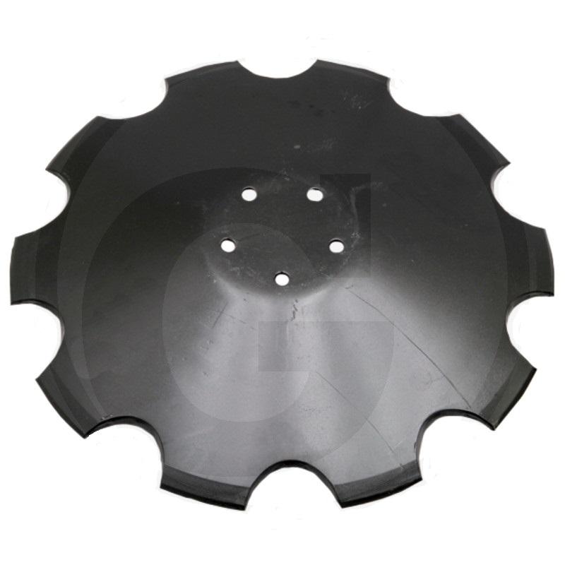 Ozubený disk diskové brány vhodný pro Horsch Joker průměr 520 mm