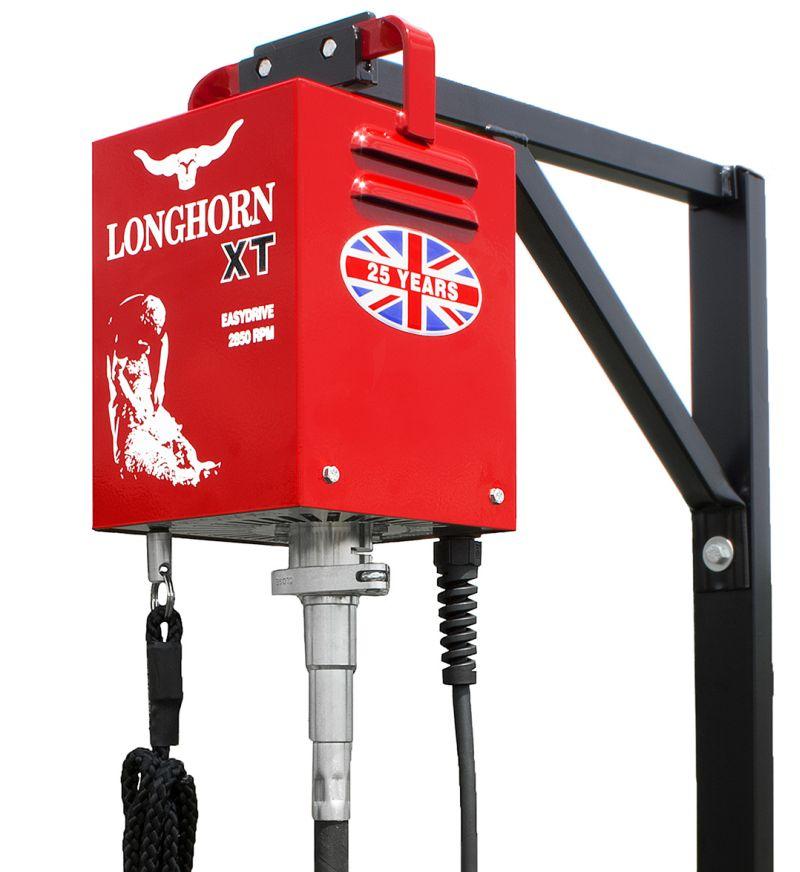 LONGHORN XT 240V kompletní sestava profi stříhacího strojku na ovce  flexibilní náhon 0279ad78eff