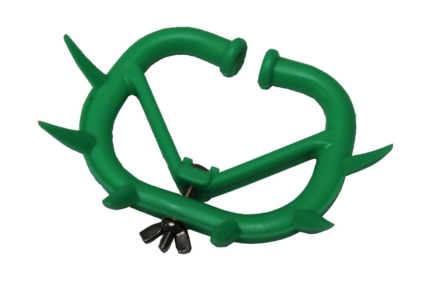 Mulcová zábrana EKOsoft střední, zelená pro jalovice