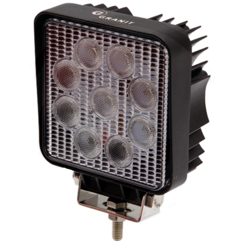 LED pracovní světlo 9 LED 12V a 24V