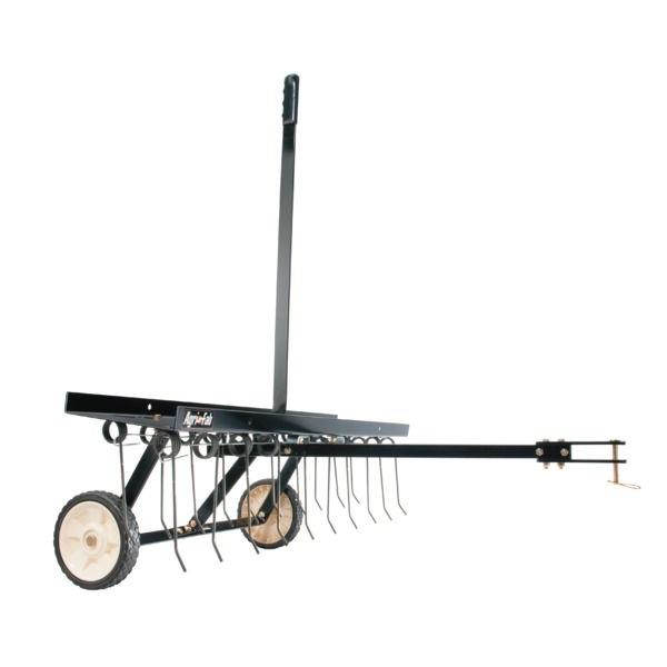 Tažené vertikulační hrábě Agri-Fab 100 cm za zahradní traktor, čtyřkolku
