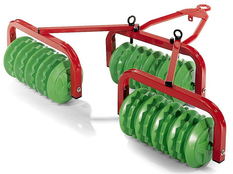 Rolly Toys - cambridgské válce červené/zelené provedení