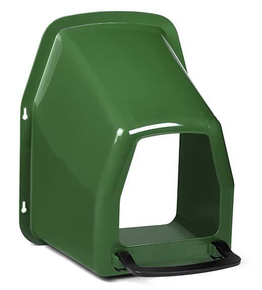 Kukaň pro slepice jednomístná plastová k připevnění na zeď bez plastového košíku