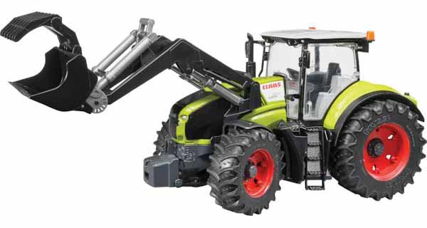 Bruder - traktor - CLAAS AXION 950 s čelním nakladačem