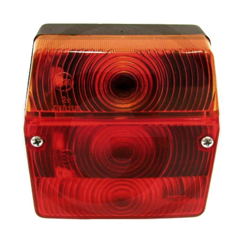 Koncové, brzdové a směrové světlo levé s osvětlením SPZ