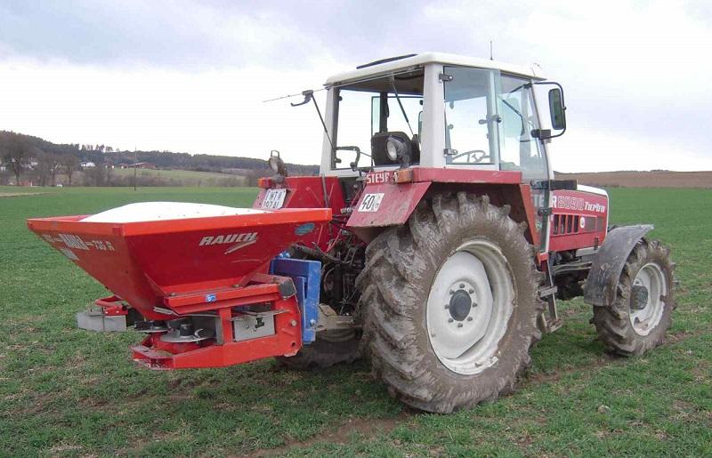 Vážicí sada AGRETO pro dodatečnou montáž na rozmetadla hnojiv, nerez