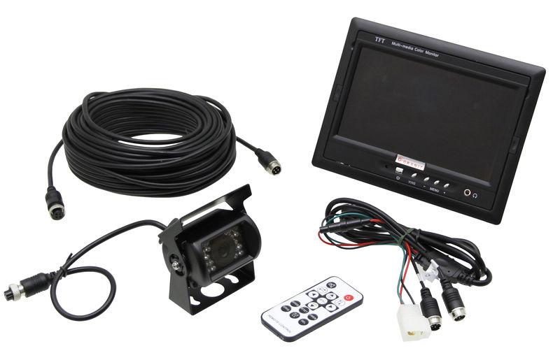 """Barevná couvací a parkovací auto kamera a kamerový systém pro couvání s LCD monitorem 5,6"""""""