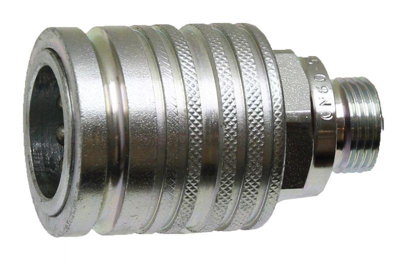 Hydraulická rychlospojka samice KM 10L 2 M16 x 1,5 DN10-BG2
