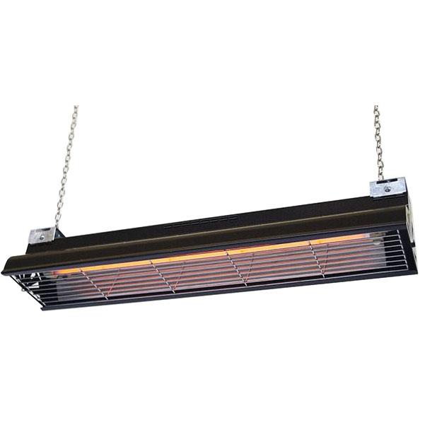Infrazářič závěsný SYNER LCA 500 W černý pro 350 kuřat, selata, hříbata, telata