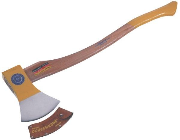 Sekera Iltis Axt Kanada Ochsenkopf hlava 1000g topůrko hickory 70 cm čepel 125 mm