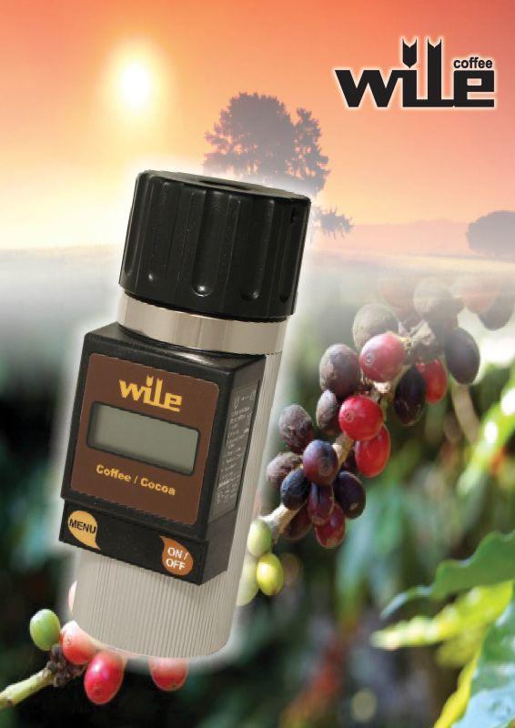 Wile Coffee vlhkoměr pro měření vlhkosti kávy a kakaových bobů