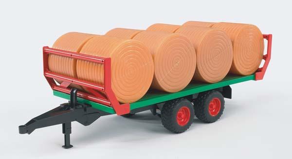 Bruder – přepravník na přepravu kulatých balíků