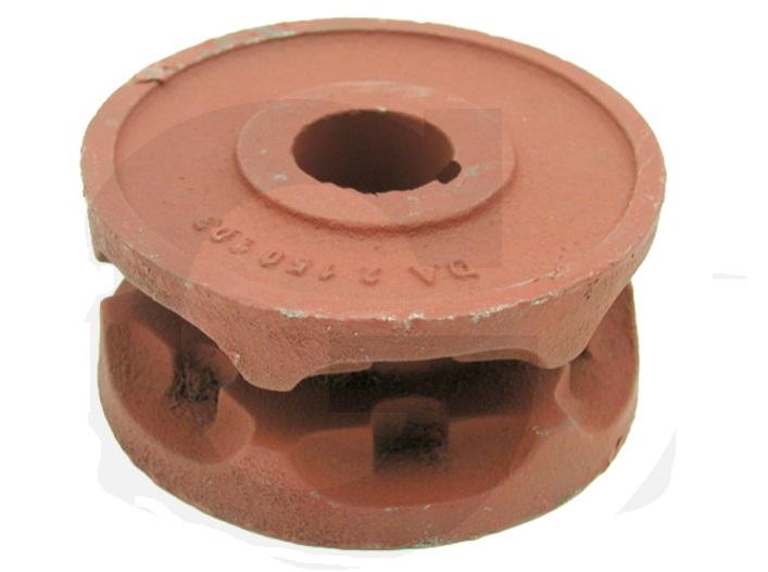 Řetězová kladka na rozmetadlo hnoje Kemper tvar A řetěz 9 x 31 mm 6 zubů