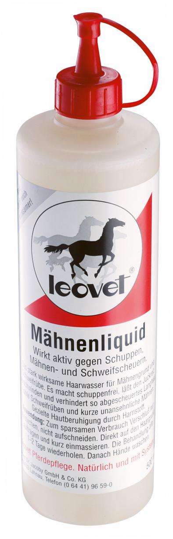 Kondicionér proti svědění a lupům u koní LEOVET 500 ml