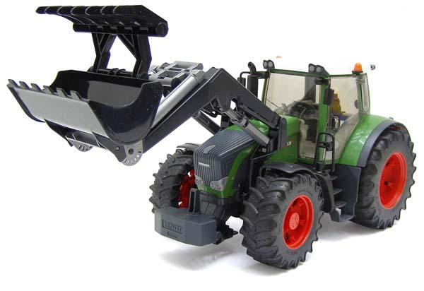 Bruder – traktor Fendt 936 Vario s čelním nakladačem