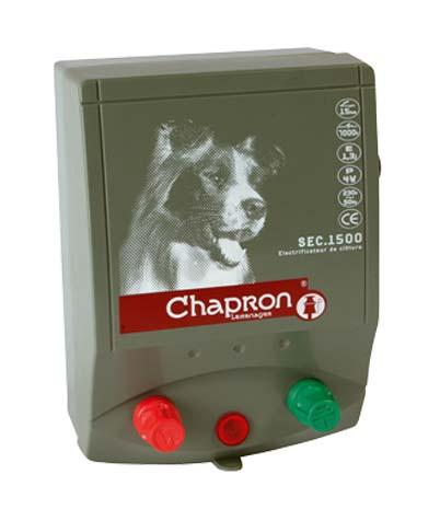 Chapron SEC 1500 síťový 230V zdroj napětí pro elektrický ohradník, 1,6J