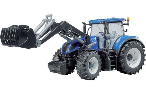 Bruder – traktor New Holland T7.315 s čelním nakladačem