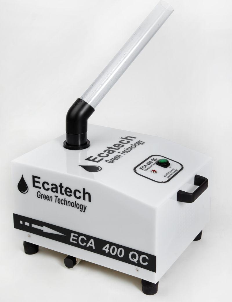 Ultrazvukový generátor dezinfekční mlhy ECA 400 QC mlžič pro prostory 100-200 m3