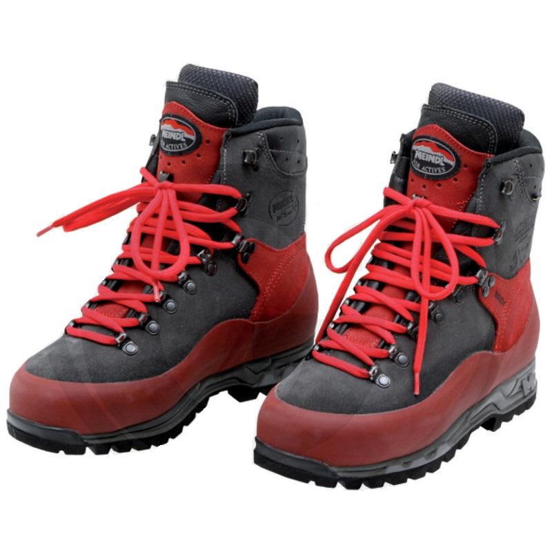 Dřevorubecká kožená obuv MEINDL AIRSTREAM s ochranou proti proříznutí velikost 37