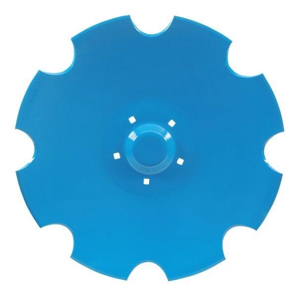 Ozubený disk diskové brány vhodný pro Lemken Rubín - průměr D=620 mm, tloušťka S=6 mm