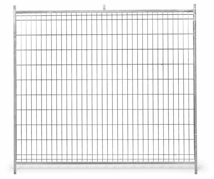 Fotografie Stěna venkovního boxu 1,5 x 1,85 m pro psy z pletiva