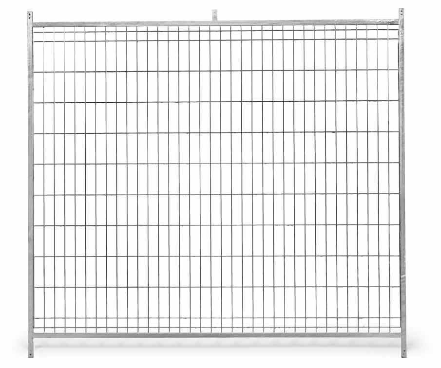 Stěna venkovního boxu 2 x 1,85 m pro psy z pletiva