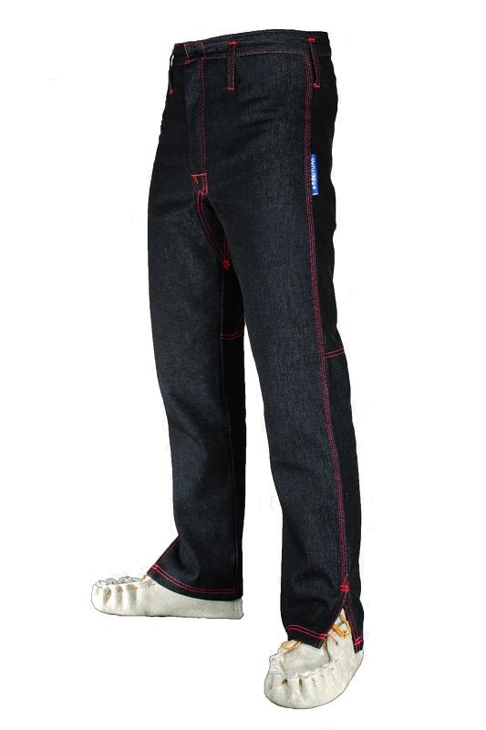 Kalhoty pro střihače ovcí bez předních kapes velikost Slim 29/31 pas 74 cm