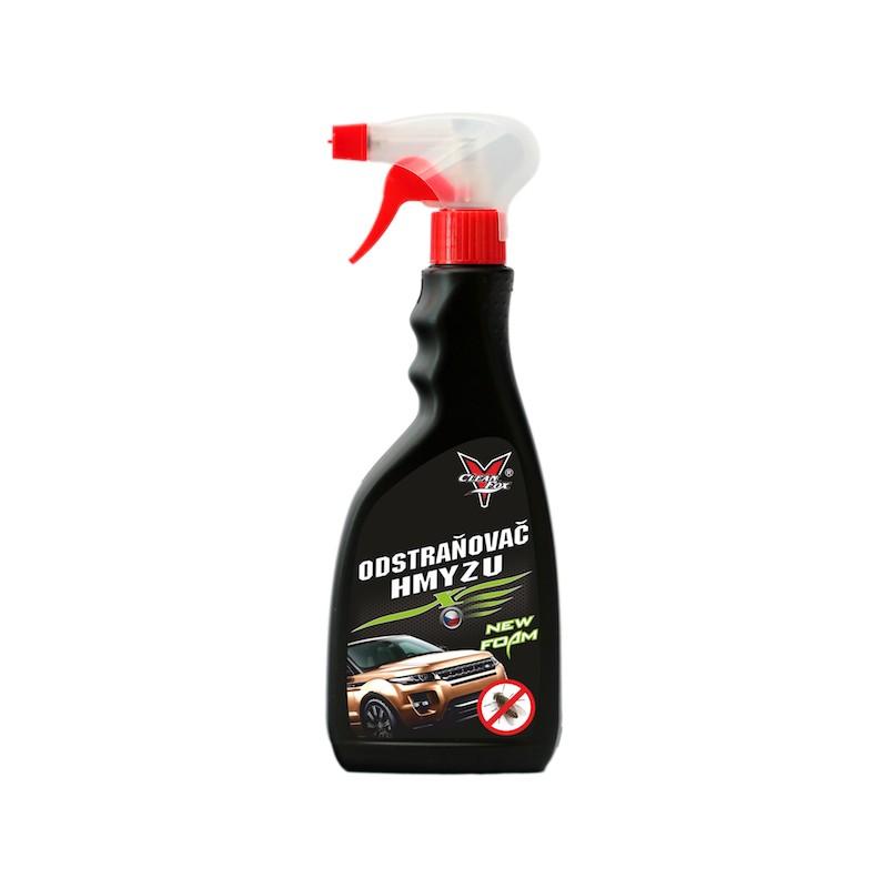 CleanFox sprej odstraňovač hmyzu z vozidla, 500 ml