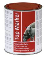 Značkovací barva na ovce TOP Marker 1 kg červená, modrá a zelená