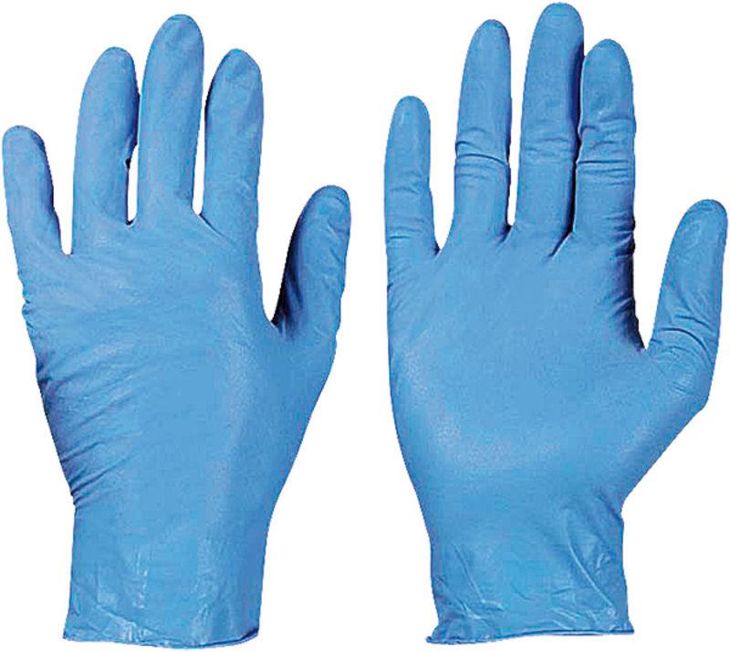 Jednorázové rukavice modré velikost 10 100 ks