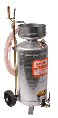 Fotografie Malířská stříkačka na vápno na strojní bílení AMMER
